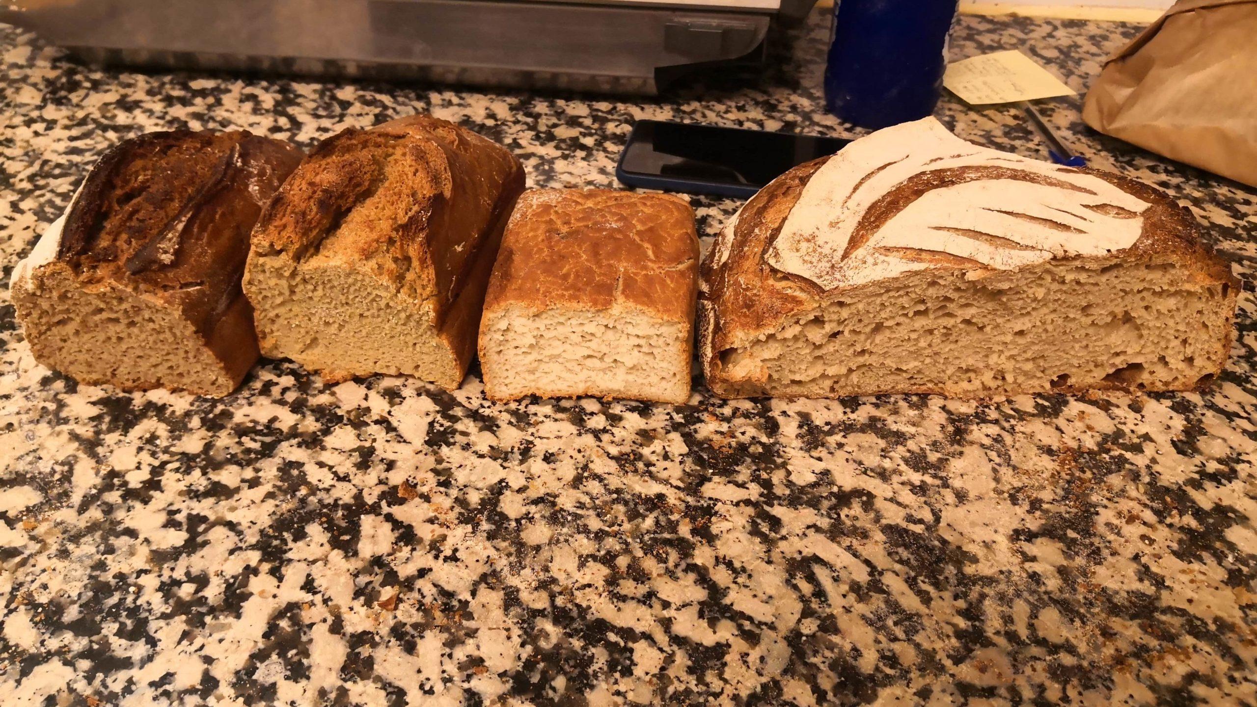 Présentation des pains au levain naturel - 1er test - boulangerie Les Frères Barioz Lyon
